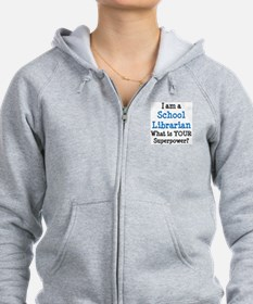school librarian Sweatshirt
