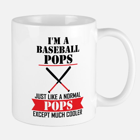 I'M A Baseball Pops Just Like A Normal Pops Except