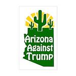 Arizona Against Trump Bumper Sticker