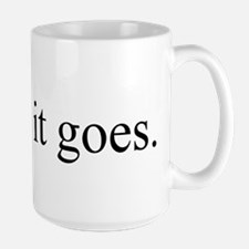 And So it Goes Mugs