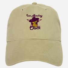 Ice Hockey Chick #9 Baseball Baseball Cap