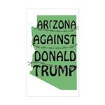 Arizona Against Donald Trump Bumper Sticker