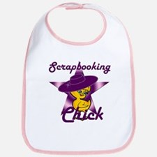 Scrapbooking Chick #9 Bib