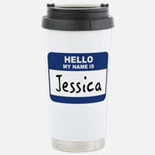 Unique Tagging nametag Travel Mug