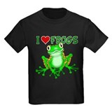 Frog Kids T-shirts (Dark)