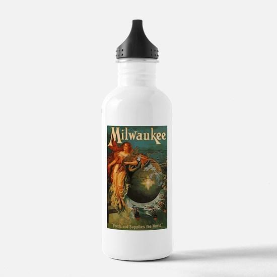 Milwaukee Feeds World Water Bottle