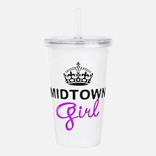 Midtown Girl Acrylic Double-wall Tumbler