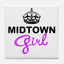 Midtown Girl Tile Coaster