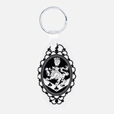 Ornate Crest Keychains