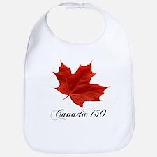 Canada 150 Baby Bib