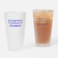 Basshead Life Begins@ 150db's Blue Drinking Glass