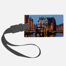 Germany hamburg Luggage Tag