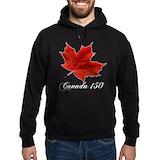Canada 150 years anniversary Hoodie (dark)