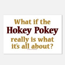 What if the Hokey Pokey Postcards (Package of 8)
