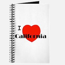 I love California! Journal