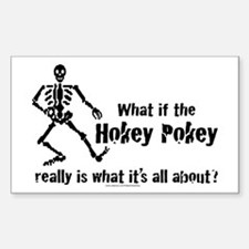 What if the Hokey Pokey Rectangle Decal