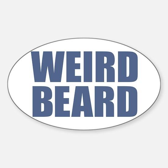 Weird Beard Decal