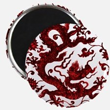 Chinese Red Dragon Magnets