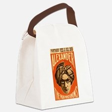 Man Who Knows Canvas Lunch Bag
