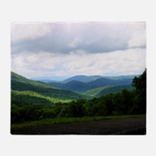 Smoky Mountains Throw Blanket