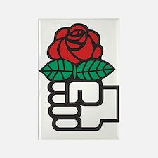 Cute Rose art Rectangle Magnet