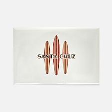 Santa Cruz Surf Boards Rectangle Magnet