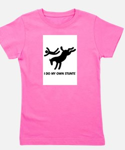 TM bucking horse stunts T-Shirt
