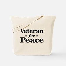 Veteran for Peace Tote Bag