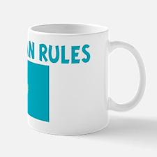 KAZAKHSTAN RULES Mug