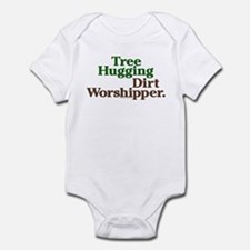 Tree-Hugging Dirt Worshipper Onesie