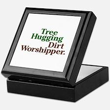 Tree-Hugging Dirt Worshipper Keepsake Box