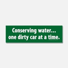 Conserving Water one dirty car at a time Magnet