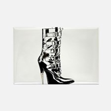 Leather Stilletto Boot Magnets