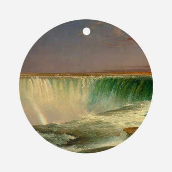 Niagara Falls by Frederic Edwin Church Round Ornam