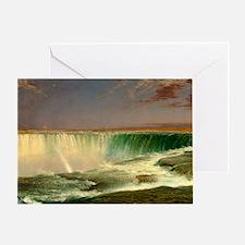 Niagara Falls by Frederic Edwin Church Greeting Ca