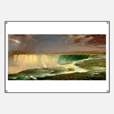 Niagara Falls by Frederic Edwin Church Banner