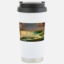 Niagara Falls by Frederic Edwin Church Travel Mug