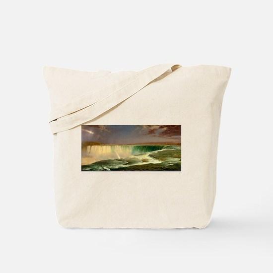 Niagara Falls by Frederic Edwin Church Tote Bag
