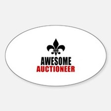 Awesome Auctioneer Decal