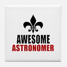 Awesome Astronomer Tile Coaster