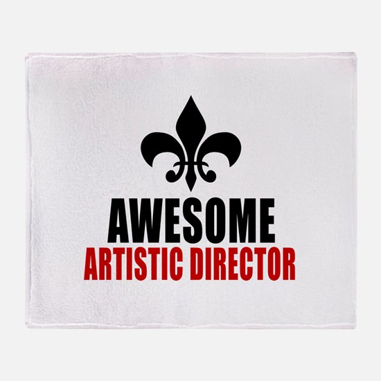 Awesome Artistic director Throw Blanket