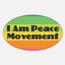 I Am Peace Movement Decal