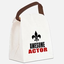 Awesome Actor Canvas Lunch Bag