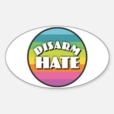 Disarm Hate Rainbow Decal