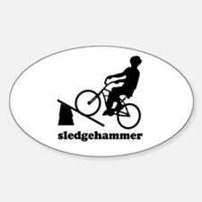 Sledgehammer ~ Oval Decal