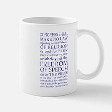 Freedom of Speech First Amendment Mugs