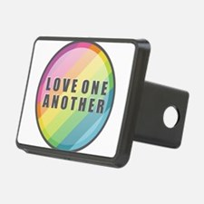 Love One Another Rainbow Hitch Cover