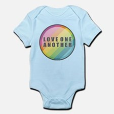 Love One Another Rainbow Body Suit