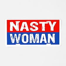 Unique Woman president Aluminum License Plate