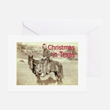 Christmas in Texas Greeting Cards